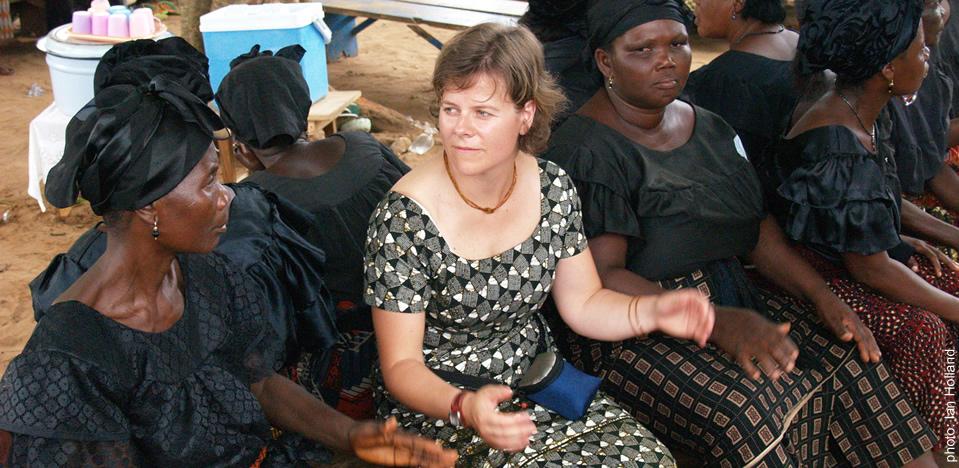 Kathy in Ghana
